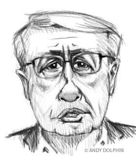 wayne swan digital caricature by andy dolphin