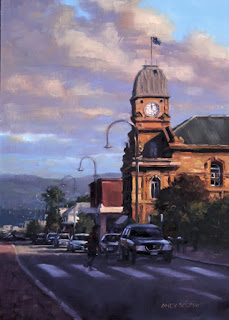 albany oil painting - stage 3 - by andy dolphin