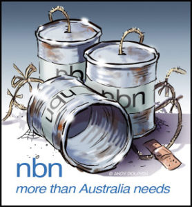#nbnbfail Australians to get slower nbn after cost blowouts